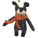 Badger Fabric Charm 10 cm
