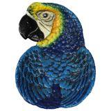 Parrot face dish 11x9cm