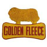 Golden Fleece Ram Sign 29cm