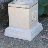 Plinth Medium 29cm White