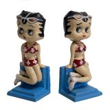 Betty Boop Bookends