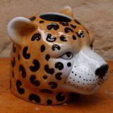 Cheetah Planter Ceramic 19cm