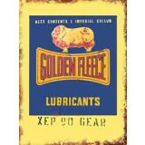 Golden Fleece Tin Sign 35x26cm