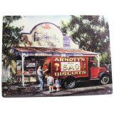 Bushells/Arnotts Tin Sign 35x26cm