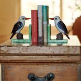 Kookaburra Bookends