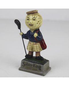 Silver King Golf Ball Figure