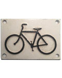 Bicycle Logo Sign 12 x 8cm