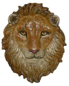 Lion face dish 11x9cm