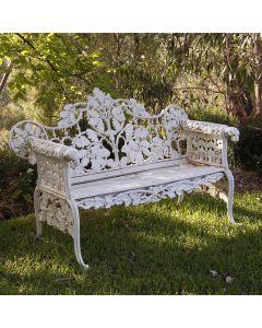 Dog bench white 150cm - RRP2,033.00