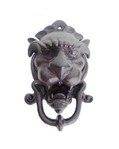 Lion Knocker Black 21cm