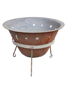 Fire Pit w cooker 73cm RRP400.00