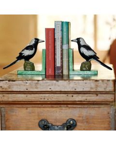 Magpie Bookends